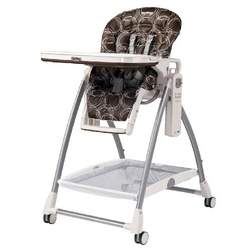 Peg-Perego Prima Pappa High Chair, Cocoa, Newborn