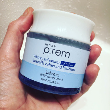 make p:rem Safe me. Relief Watery Cream