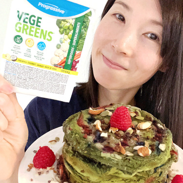 Progressive vegegreens-pineapple coconut