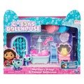Gabby's Dollhouse Primp and Pamper Bathroom with MerCat