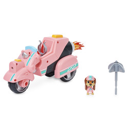 PAW Patrol Liberty's Movie Toy Car with Collectible Action Figure