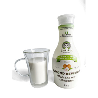 Califia Farms Dairy-Free Unsweetened Pure Almond Milk - 48 fl oz