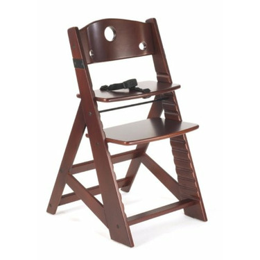 Keekaroo Height Right Kids High Chair, Mahogany