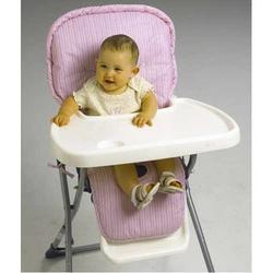 NoJo Stripe Highchair Pad - Pink