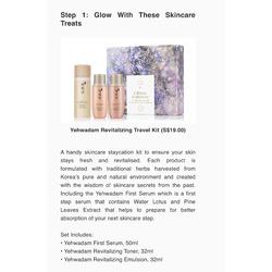 Yehwadam - Glitter Universe - Revitalizing Travel Kit