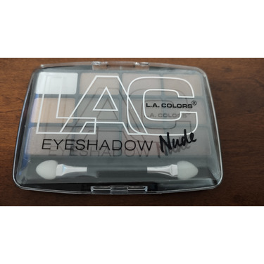 L.A colors eye shadow palette nude