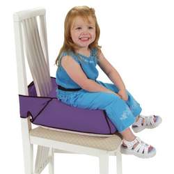 Leachco Booty Boost - Non-Slip Booster Cushion - Purple