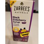 Zarbee's Black Elderberry Syrup