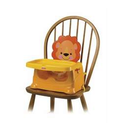 Fisher-Price Healthy Care Lion Booster Seat - Yellow