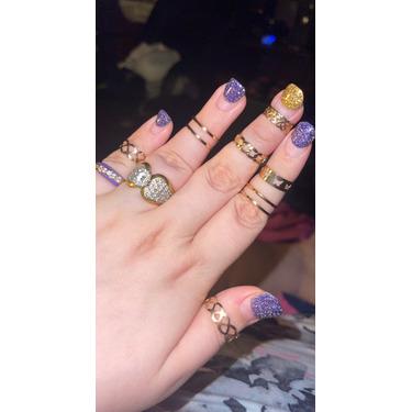 5 finger rings set