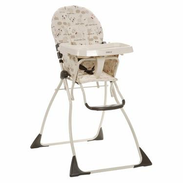 Cosco Flat Fold High Chair - Barnyard Buddies