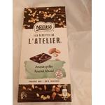 Nestle les Recettes de L'atelier blueberry almonds and hazelnut bar