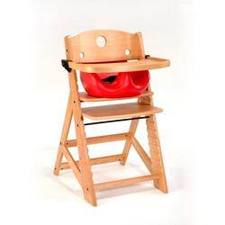 Keekaroo High Chair and Infant Insert Tray, Cherry