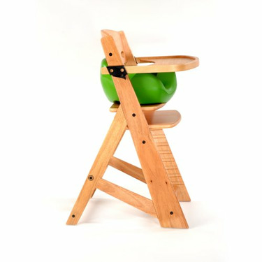 Keekaroo High Chair and Infant Insert Tray, Lime