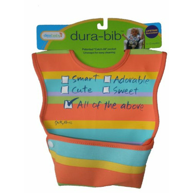 Dex Baby Dura Bib - Stage 1 - Small (All of the Above)