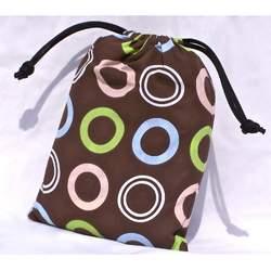 The Original TOTSEAT Washable Squashable Portable High Chair Chocolate Circles