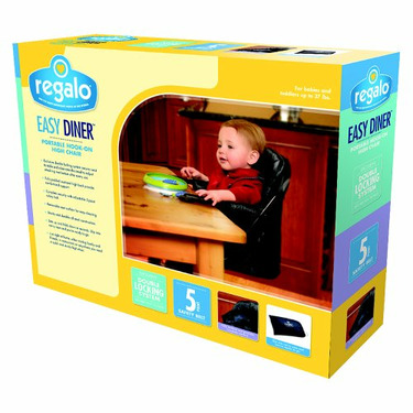Regalo Easy Diner Fold and Go High Chair