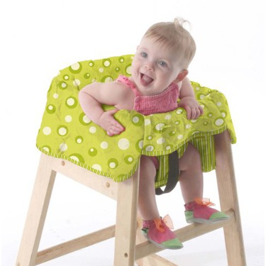 Babe Ease The Chic Clean Diner Highchair Cover, Sage