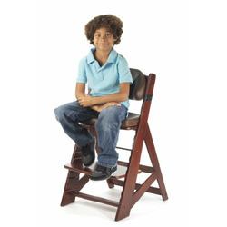 Keekaroo Height Right Kids High Chair with Comfort Cushions, Mahogany/Chocolate