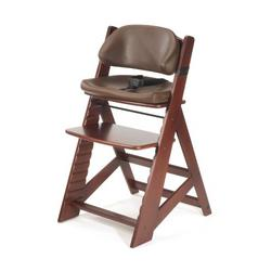 Keekaroo Height Right Kids High Chair with Comfort Cushions, Mahogany/Chocolate