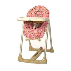 Pink Floral Messeez High Chair Cover Size B