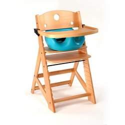 Keekaroo High Chair and Infant Insert Tray, Aqua
