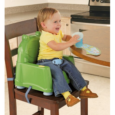Safety 1st Swing Tray Booster Seat, Green