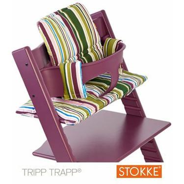Stokke Tripp Trapp Cushion in Fresh Stripe