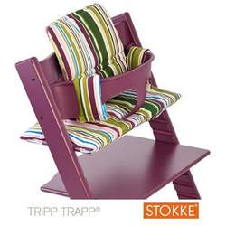 Stokke Tripp Trapp Cushion in Fresh Stripe