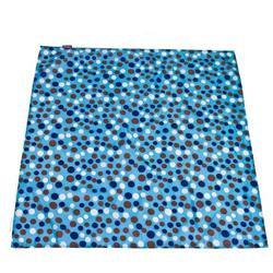 Wupzey Floor Mat Blue Polka Dot