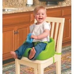 Summer Infant Secure Comfort Foam Booster Seat, Green