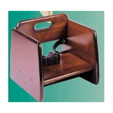 Wooden Booster Seat - Mahogany
