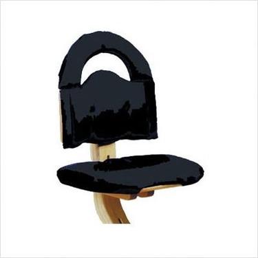 Chair Cushion in Black