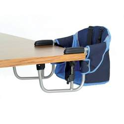 Zooper Hook-On Chair Navy Blue