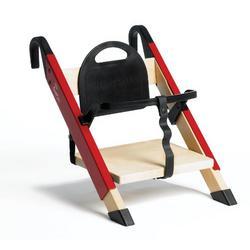 Minui HandySitt Highchair, Birch/Red