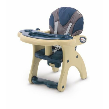 Foundations Transitions Low Chair, Blue/Almond