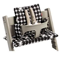 Stokke Tripp Trapp Cushion in Black Dots