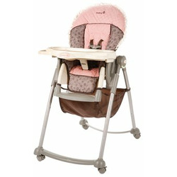 Safety 1st Serve 'n Store Lexi LX Plastic High Chair Plus