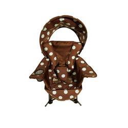 Kelsyus Go and Grow Highchair, Brown/Blue Dots