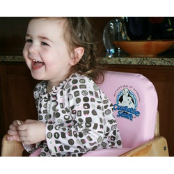 Cuddle Seat - Baby & Toddler Highchair Insert & Safety Seat for Support - Security (Pink)