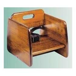 Wooden Booster Seat - Walnut