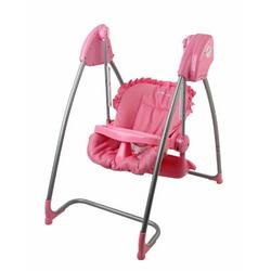 Dream On Me 2 In 1 Highchair and Swing, Pink
