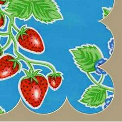 Strawberry Fields Retro Splat Mat