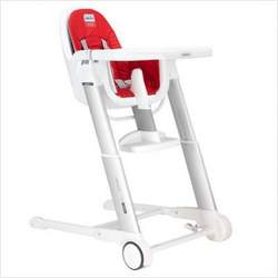 Inglesina Zuma Folding Plastic High Chair in Red