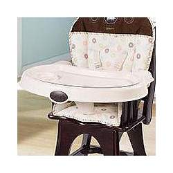 Carter's Classic Comfort Reclining Wood High Chair - Safari Friends