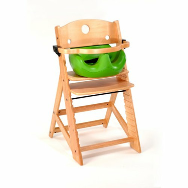 Keekaroo High Chair and Infant Insert Rail, Lime