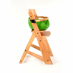 Keekaroo High Chair and Infant Insert Rail, Lime