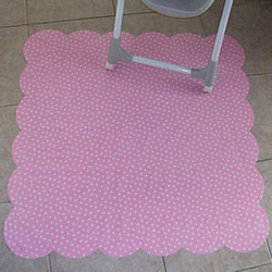Bubble Gum Dot Retro Splat Mat