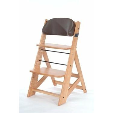 Keekaroo Comfort Cushion - Back - Chocolate