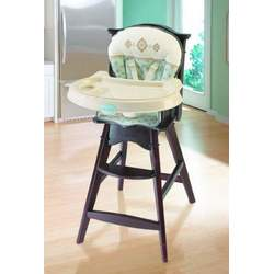 Summer Infant 80830 Classic Comfort Reclining Wood High Chair